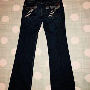 """7 for All Man Kind Jeans - """"DoJo"""", size 31"""